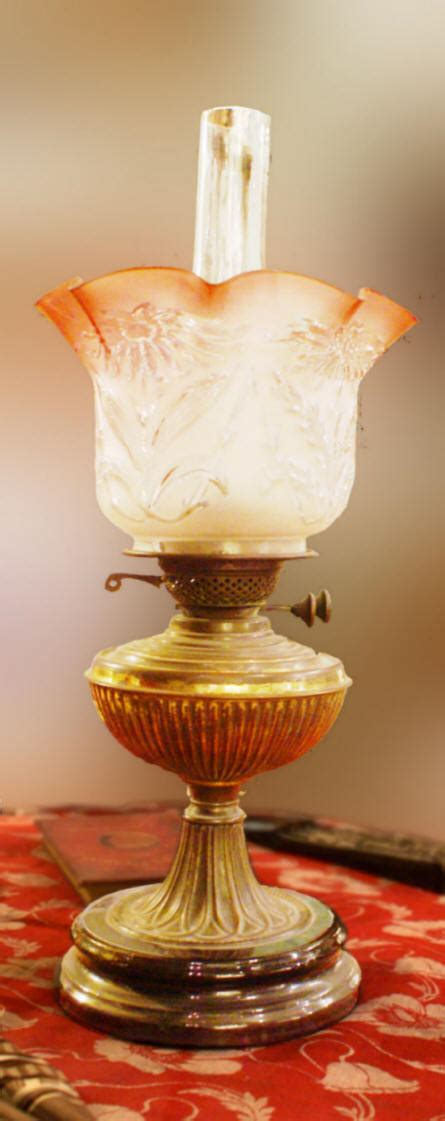 homeofficedecoration antique oil lamp glass shades