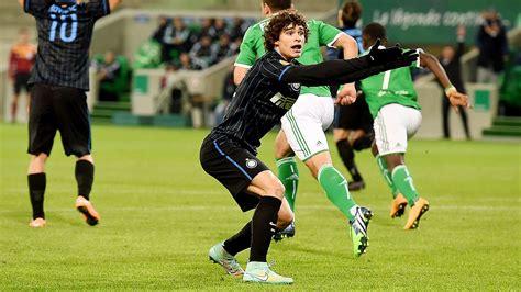 St Dodo 50 st etienne vs internazionale football match report
