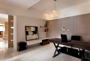 Modern Contemporary Home Office Desk Contemporary Home Office Interior Design Ideas