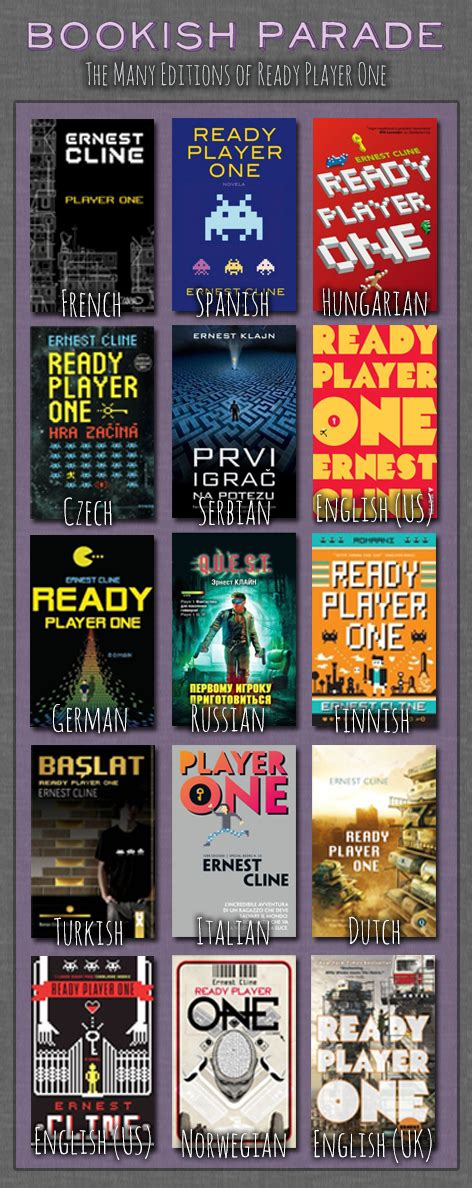 ready player one tie in a novel books bookish parade ready player one oh the books