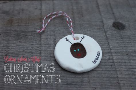 baking soda clay ornaments mama papa bubba