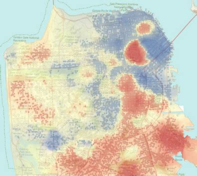 hotspot pattern analysis extending your map with spatial analysis arcgis resource