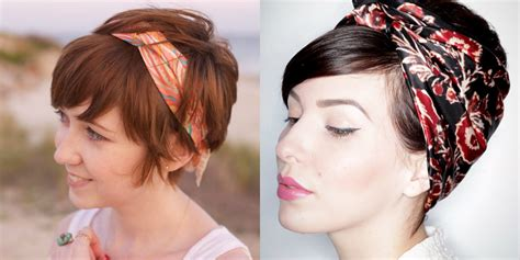 hairstyles with scarf headbands elegant hairstyles with bandana scarves hairzstyle com