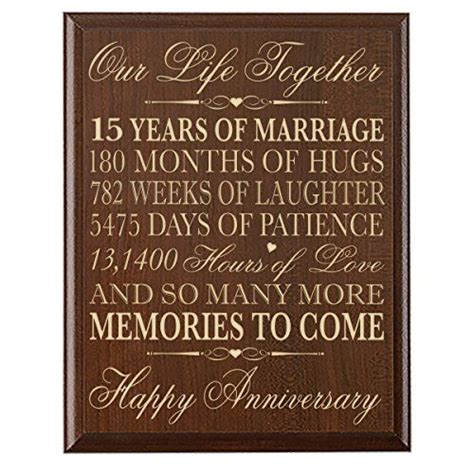 15th Wedding Anniversary What Gift 151 best images about wedding anniversary on