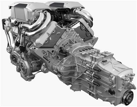 bugatti chiron engine 3d bugatti chiron engine model turbosquid 1217464