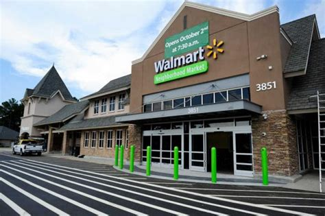 augusta area s wal mart neighborhood market opening