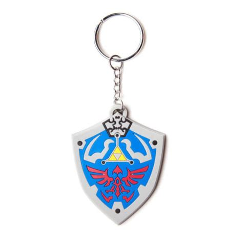 The Legend Of Rubber the legend of hylian shield rubber keychain nintendo official uk store