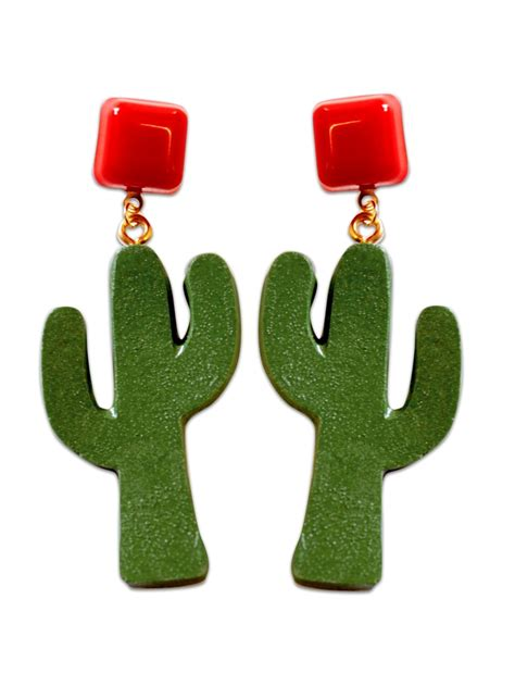 Cactus Earring cactus earrings from vivien of holloway
