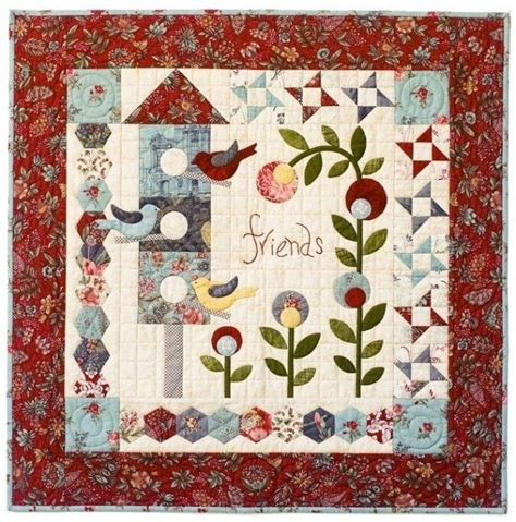Creek Quilting by Remembering Annabelle By Bloom Creek Quilts Applique