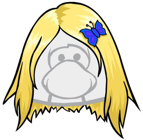 penguin lodge hair blonde hair code club penguin