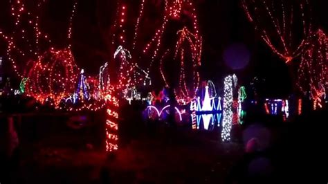columbus zoo christmas lights 2014 youtube