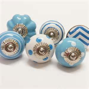 polly cotton ceramic knobs decorative drawer handles