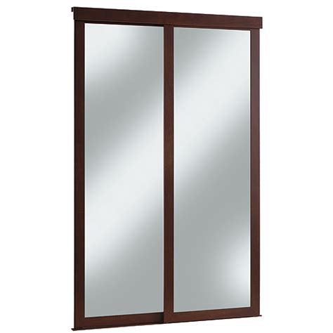 Rona Closet Doors Quot Fusion Quot Sliding Mirror Door Rona