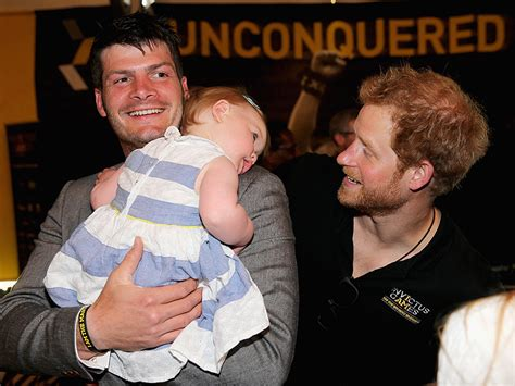 prince harry s friend prince harry on friend dave henson s record breaking