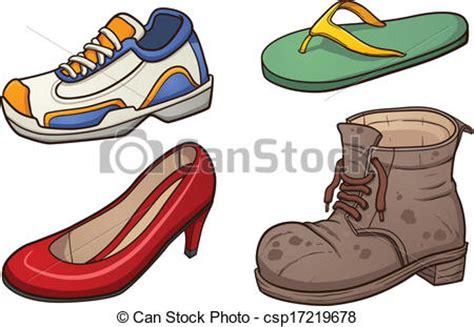 imagenes vectoriales de zapatos ilustraciones vectoriales de calzado clip arte vector