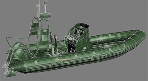 zodiac lifeboat 3ds max inflatable lifeboat zodiac engine