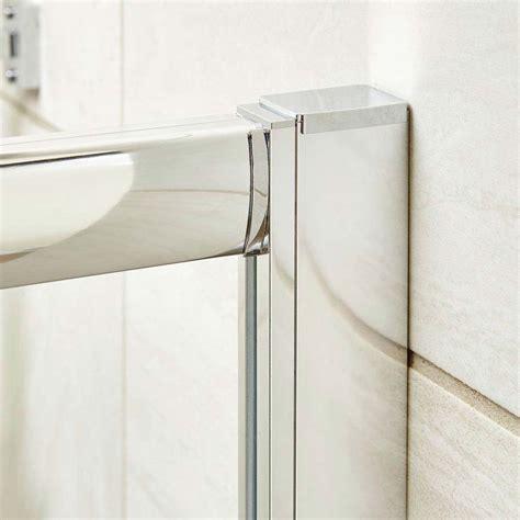 Pacific Shower Doors Premier Pacific Sliding Shower Door Various Size Options At Plumbing Uk