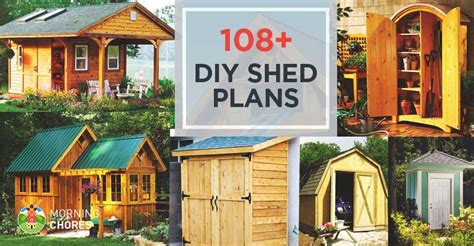 diy shed plans  detailed step  step tutorials