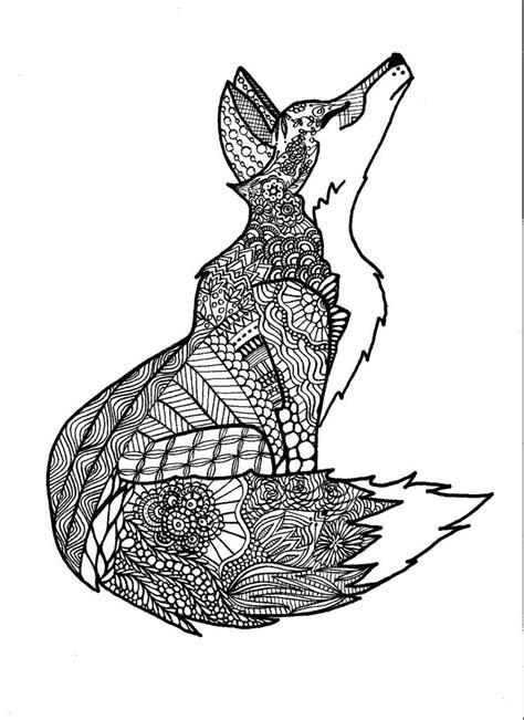 fox coloring page for adults 31 best felnőtt kifestők 246 nyv images on pinterest