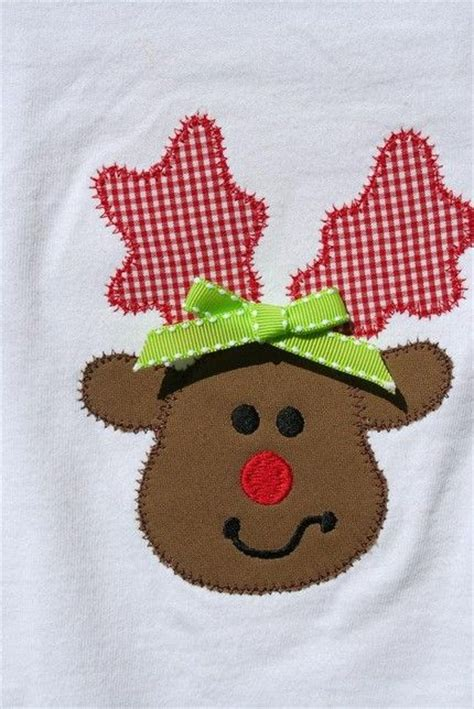 patterns for christmas appliques free holiday applique templates patterns personalized