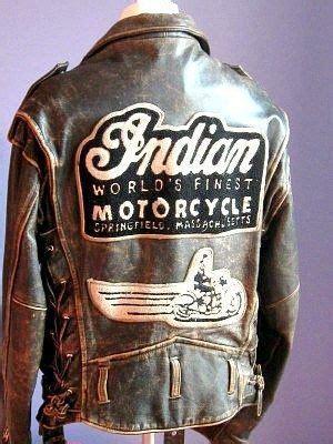 Motorrad Lederjacke Indian by Vintage Authentic Indian Leather Jacket Brown Cool Cars