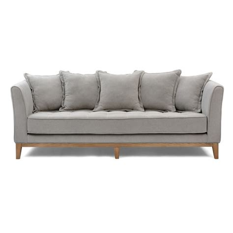 elise sofa elise 3 seater sofa with cushions maison living