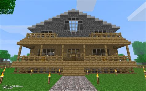 minecraft house 1024 215 640 130883 hd wallpaper res