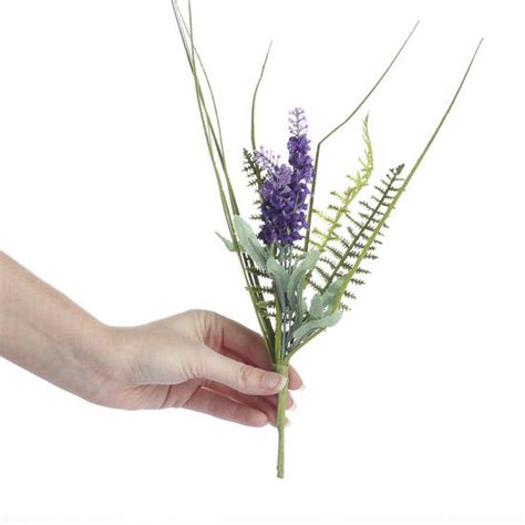 greenery picks artificial lavender greenery picks and stems