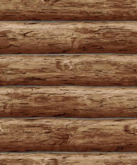 log cabin wood wallpaper designer rustic log cabin brown wood log wall ebay