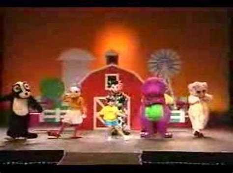 barney and the backyard gang barney in concert barney in concert 2 youtube