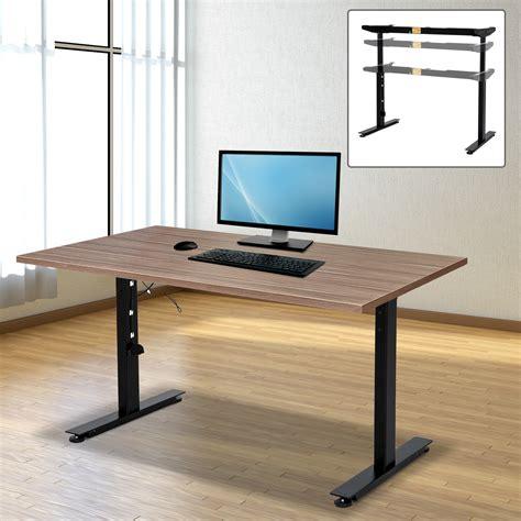 ideal height adjustable standing desk thedeskdoctors h g