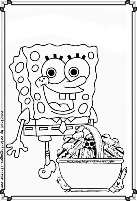 spongebob easter coloring page printable spongebob easter coloring pages happy easter 2018