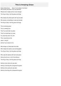This Is Lyrics This Is Amazing Grace Lyrics Bethel