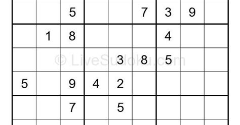 printable puzzles by krazydad live sudoku easy sudoku 387273 daily sudoku pinterest