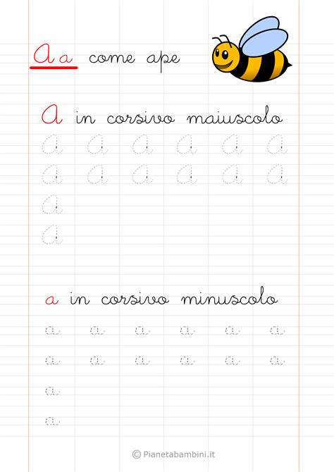 lettere dell alfabeto da stare grafia lettere corsivo3 schede didattiche corsivo
