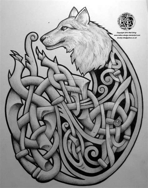 irish wolf tattoo designs celtic wolf by design on deviantart dublin
