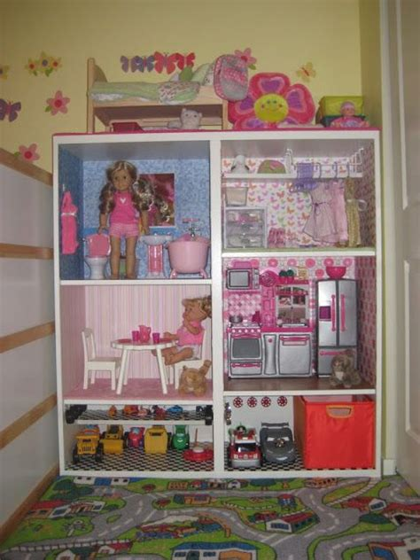 diy american girl doll house american girl sized doll house diy toys pinterest