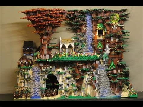 Chess Sets by Lego Moc Review Elves Village Ver English Kupi Bricks