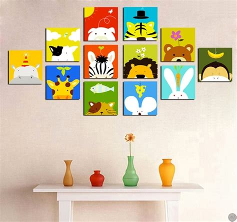 Animal Wall Stickers For Nursery tableaux animaux funny animals