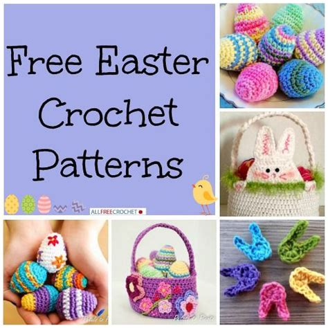 best free easter crochet patterns including easter eggs 101 best images about spring crochet patterns on pinterest
