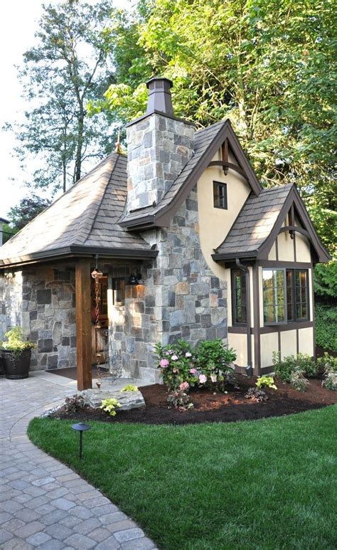 storybook cottage style time to build tiny romantic house plan 172 best exterior images on pinterest craftsman style