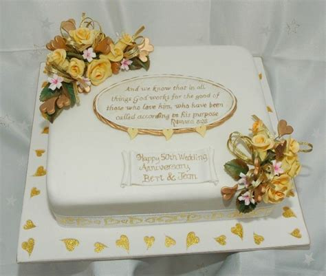 50th Wedding Anniversary Cakes by 50th Wedding Anniversary Cake Cakecentral