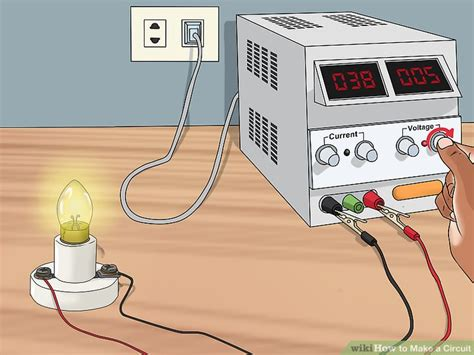 make a model of electric circuit 3 ways to make a circuit wikihow