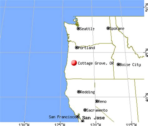 cottage grove oregon map afputra
