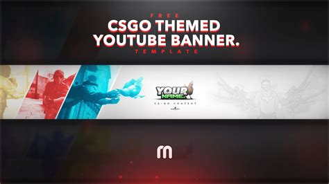 youtube banner maker 2560x1440 template business template