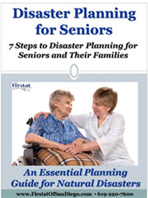 disaster planning guide for home health care providers homecare home care nursing firstat of san diego