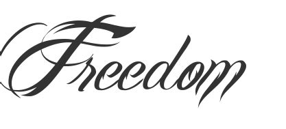 tattoo word png font for word with bird coming from m tattoos