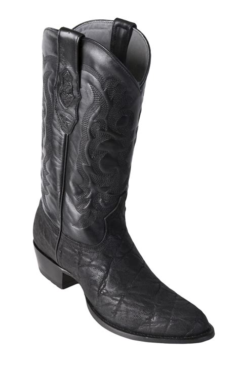 round los altos los altos black elephant round toe cowboy boots los