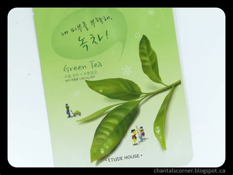 Etude I Need You Mask etude house i need you green tea mask review