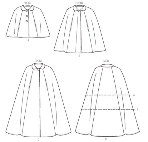 simple pattern for a cape vogue sewing pattern 8959 very easy vogue misses cape